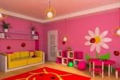 Vybavení dětského pokoje -barevný nábytek posune hranici