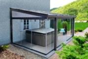 Zastřešení terasy SKYTRIUM dá terase zcela novou perspektivu