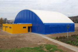 Potřebujete skladovací prostory? Textilní hala – nejrychlejší řešení