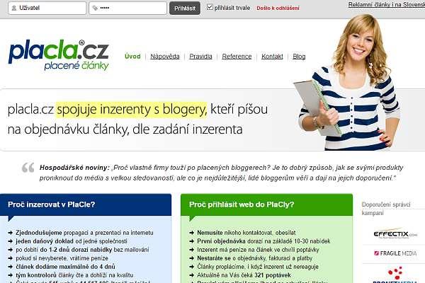 Ukončení spolupráce s placla.cz
