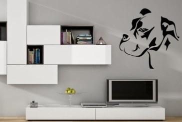 Samolepící dekorace zpestří stěny pokojů