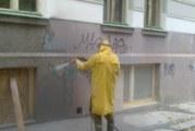 Čištění fasády od graffiti: Raději se obraťte na profesionály